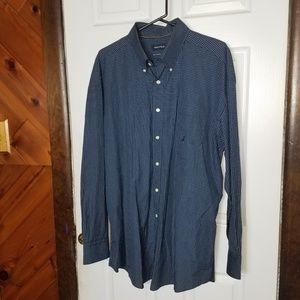 Nautica Plaid Button Down Shirt